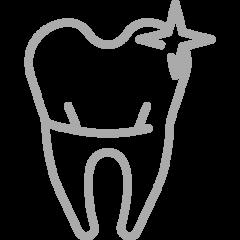 Icono Blanqueamiento Dental  Estetica Dental
